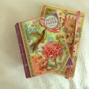 Other - Matching notepad & notebook — 2 pack deal!